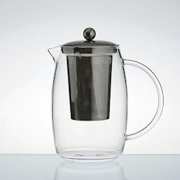 tea pot with stainless steel interior