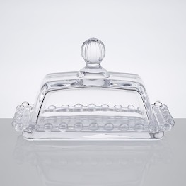 BUTTER DISH W/ LID